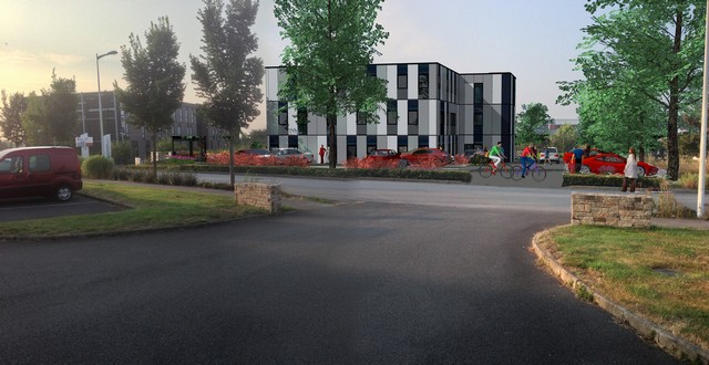 Bureau vannes a vendre le bec immobilier entreprise for Bureau vannes
